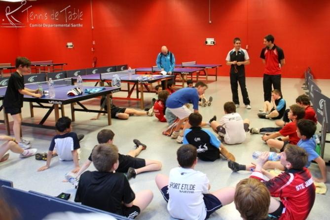 Section sport etudes en sarthe tennis de table ligue des - Ligue des pays de la loire tennis de table ...