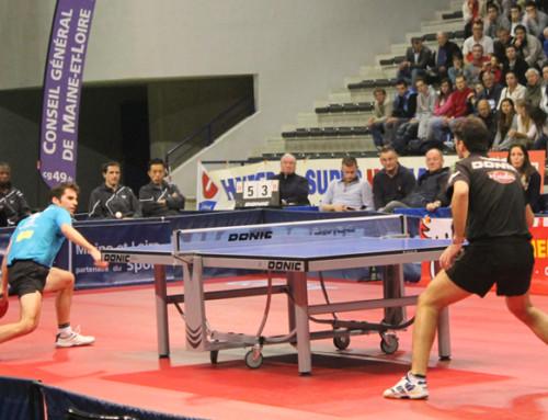 Emission tv soyons sports au creps de nantes tennis de - Butterfly tennis de table france ...