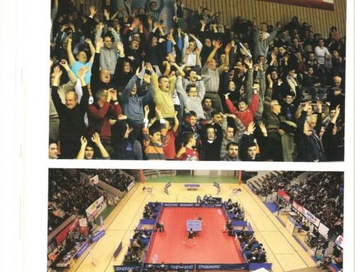 Quarts de finale de ligue des champions à Angers