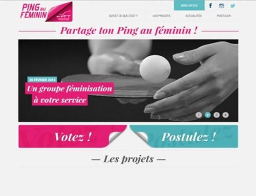 Partage ton Ping au Féminin !