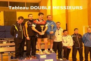 tableau Double  MESSIEURS