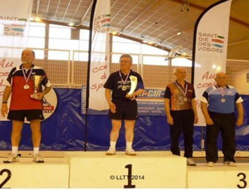 Résultats des ligériens aux championnats de France Vétérans 2013/2014