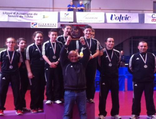 Les cadets-cadettes remportent le challenge DEVYS
