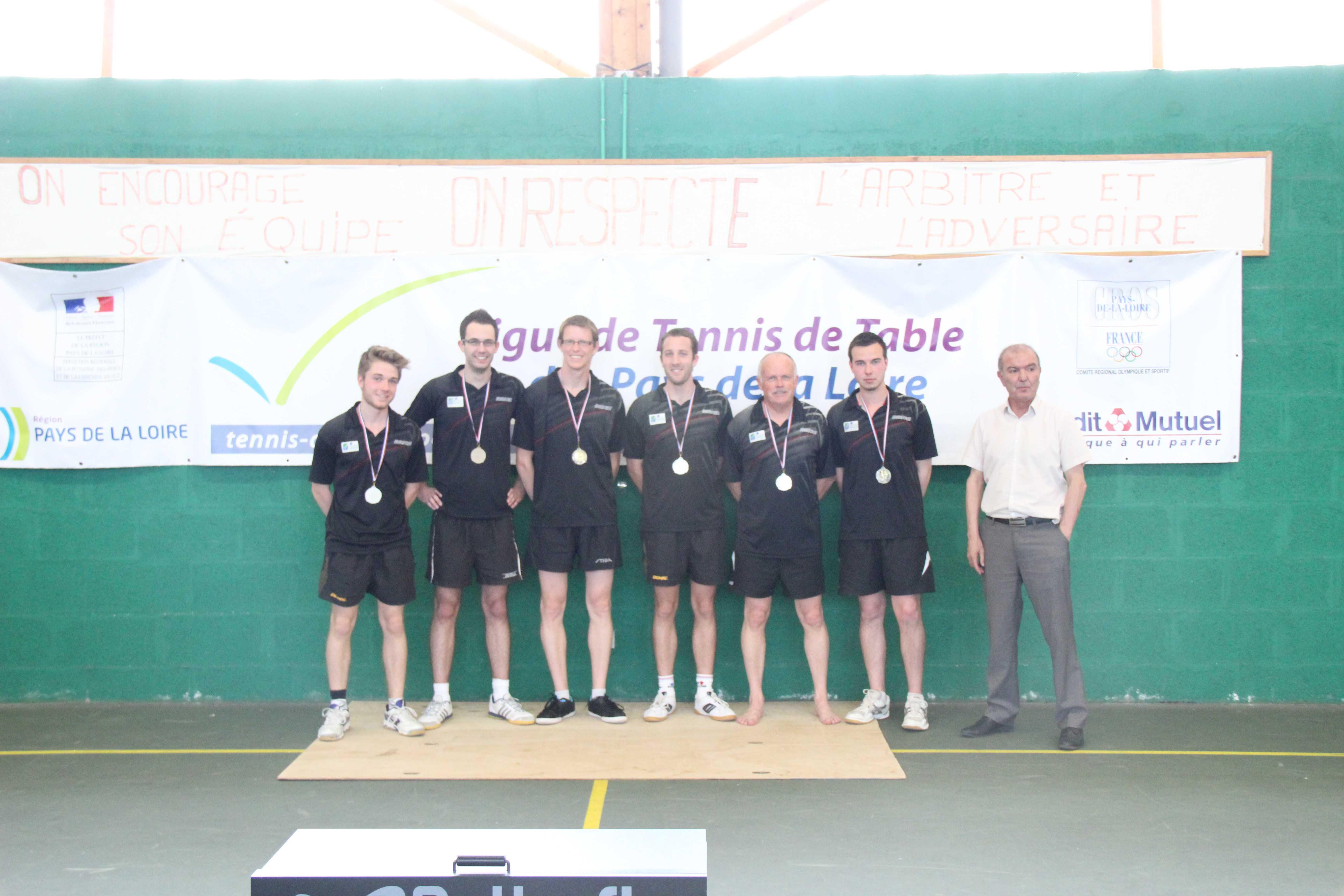 R sultats des titres et barrages r gionaux par quipe 2014 - Ligue des pays de la loire tennis de table ...