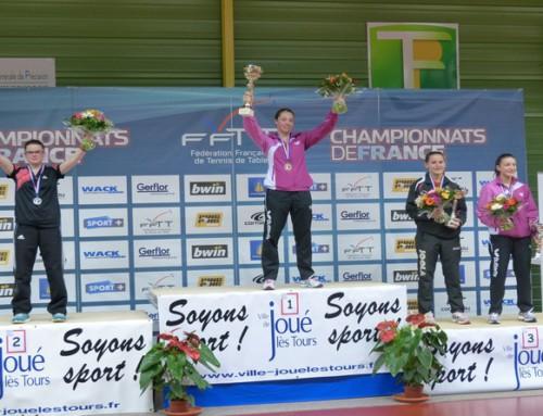 Championnats de France Minimes-Juniors .. Océane à l'honneur!!