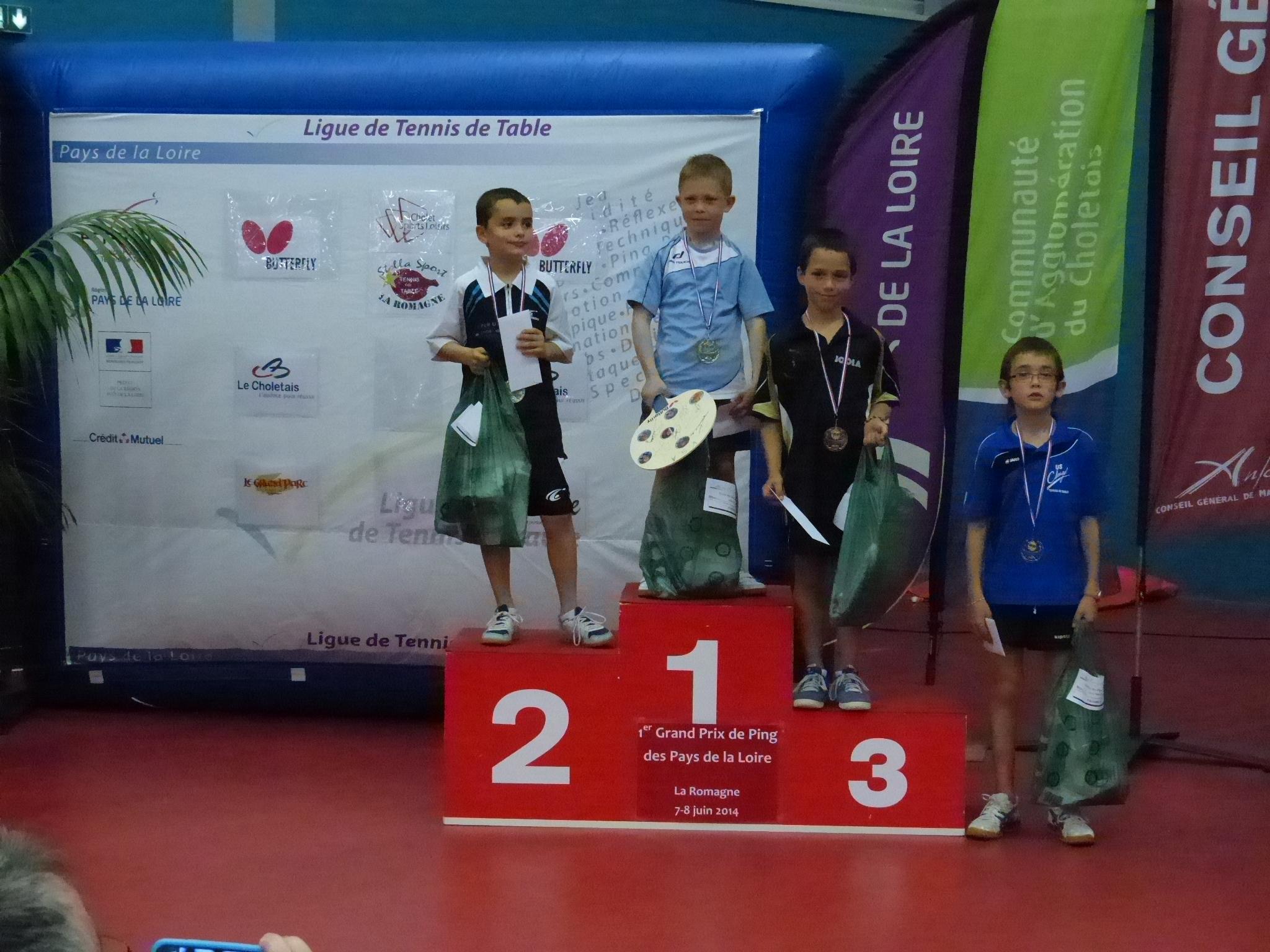 Poussins tennis de table ligue des pays de la loire - Ligue des pays de la loire tennis de table ...