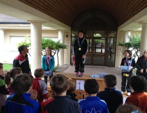 Clara Beaudron remporte le challenge des moins de 9 ans