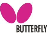 Logo butterfly partenaire ligue de tennis de table des pays de la loire