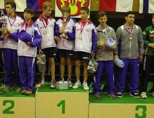 2 médailles pour Damien LLORCA en Slovaquie
