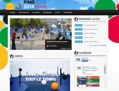 Ping Tour 2015 : Devenez Ville Etape