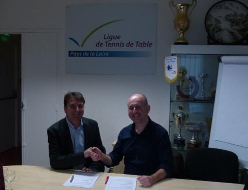 Ouest-France et la ligue ont signé une convention de partenariat