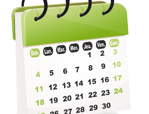 Organisations régionales et appels d'offres – Calendrier 2016-2017