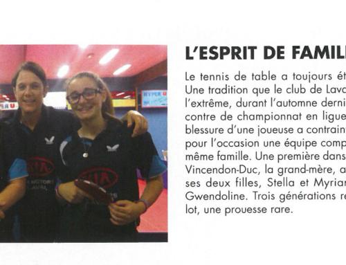 Laval Bourny : une équipe féminine qui se veut familiale