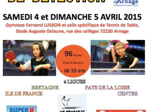 TOP INTERREGIONAL – ARNAGE – 10 podiums pour les Pays de la Loire
