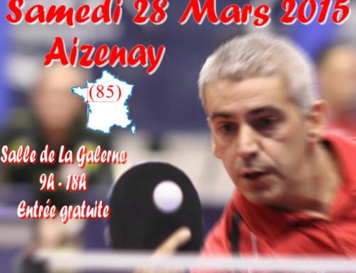 3ème tour de nationale 1 handisport à Aizenay le 28 mars – résultats