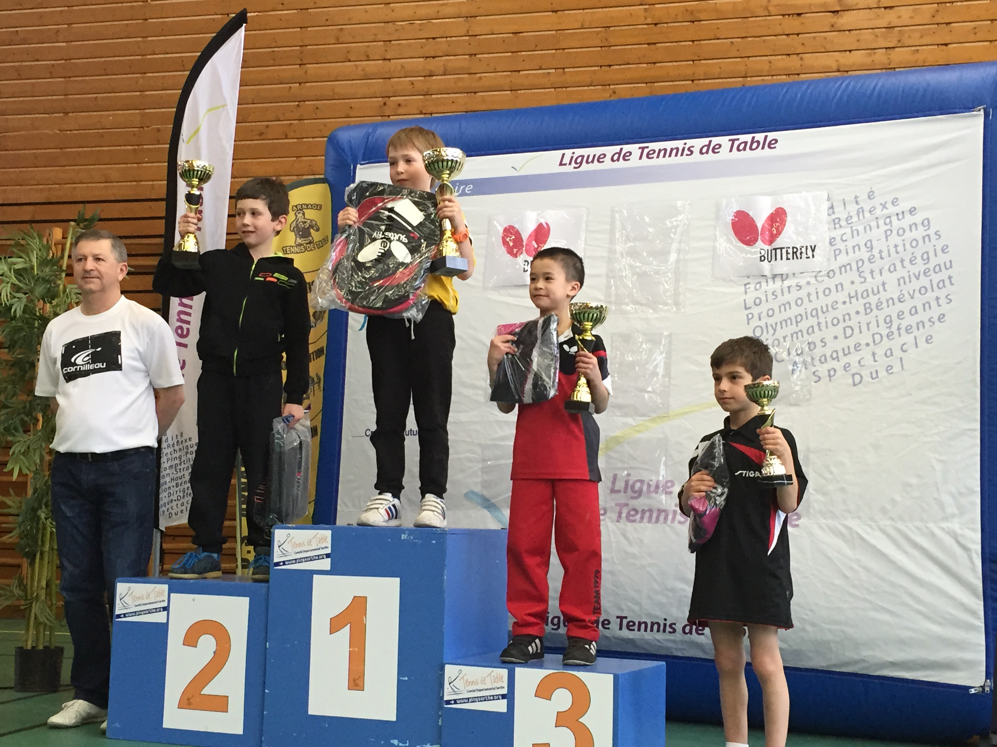 Top interregional arnage 10 podiums pour les pays de - Ligue de tennis de table poitou charentes ...