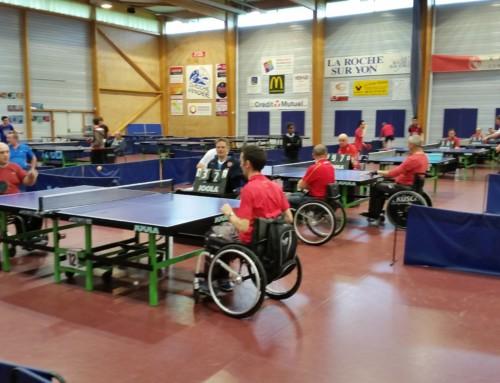 Résultats du premier challenge handi tennis de table adapté
