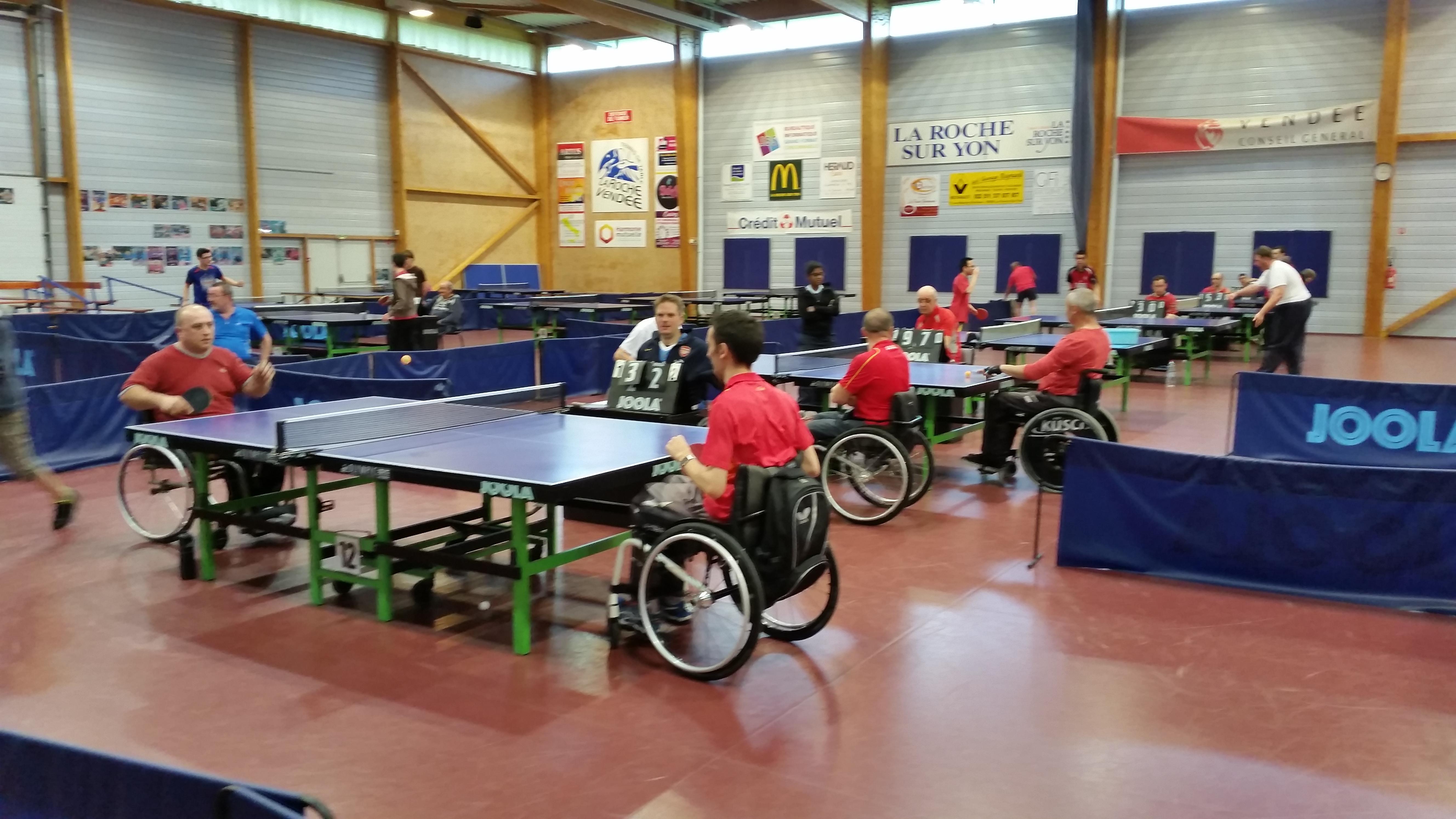 R sultats du premier challenge handi tennis de table - Ligue aquitaine tennis de table ...
