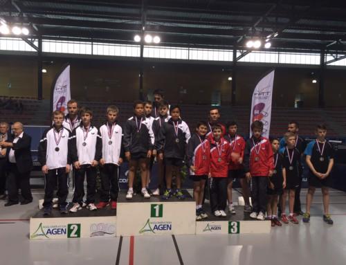 Championnats de France des Régions : Troisième place pour les minimes