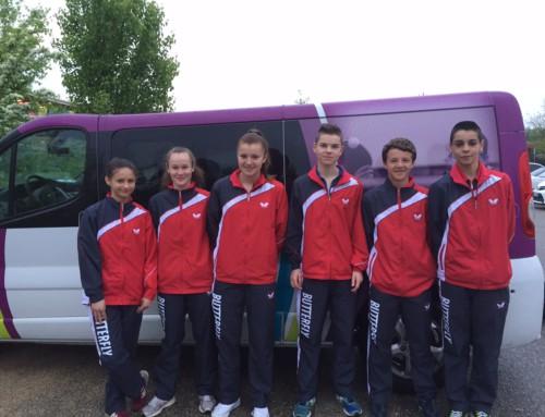 Championnats de France des Régions : CADETS 9 – CADETTES 6