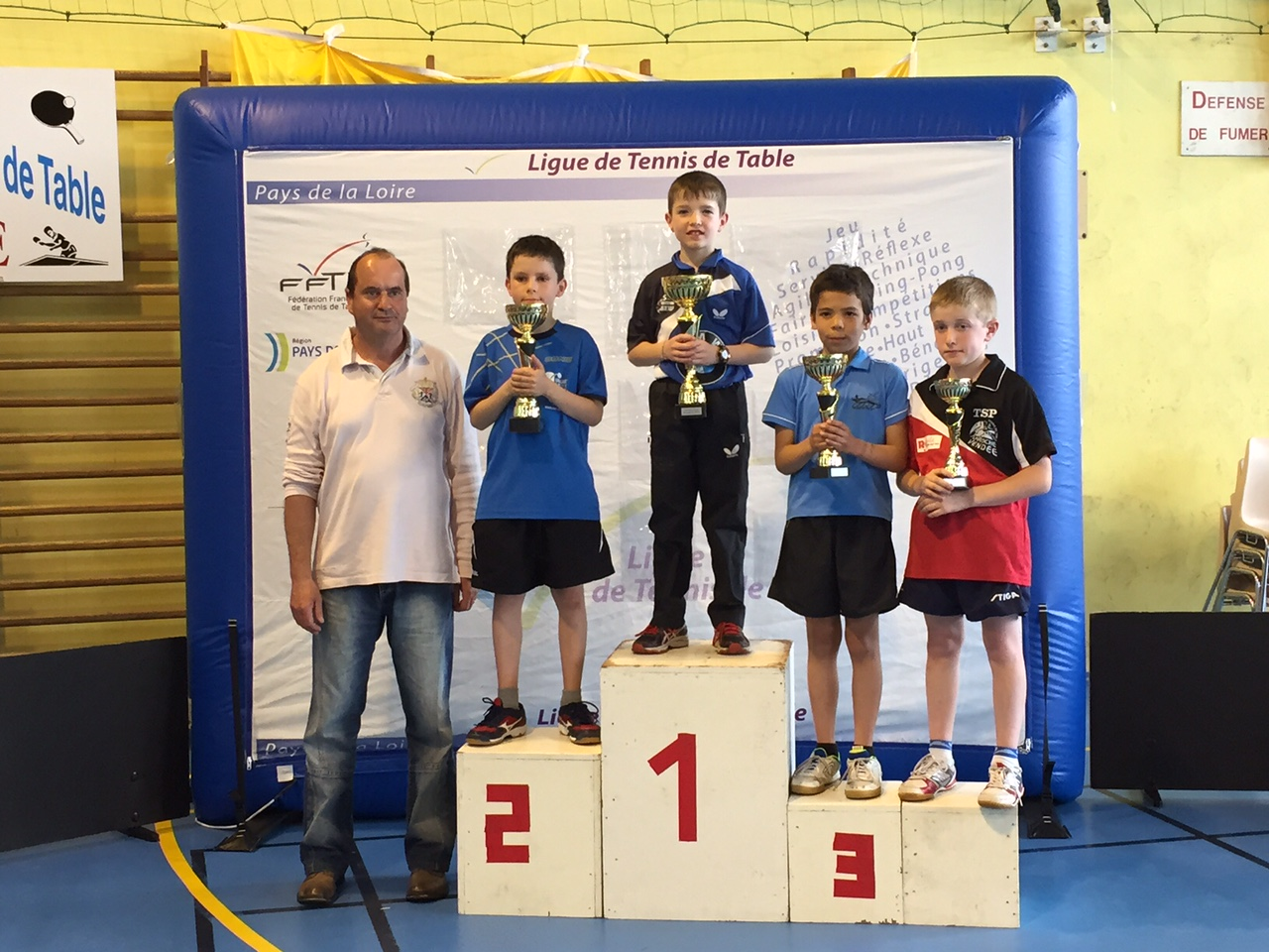 Tournoi open benjamins les resultats tennis de table - Ligue de tennis de table poitou charentes ...