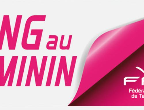 Partage ton ping au féminin (saison 2) : du 08 mars au 30 septembre 2015