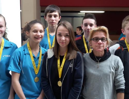 La Section Sportive Scolaire du collège Emmanuel de Martonne Champions de France UNSS