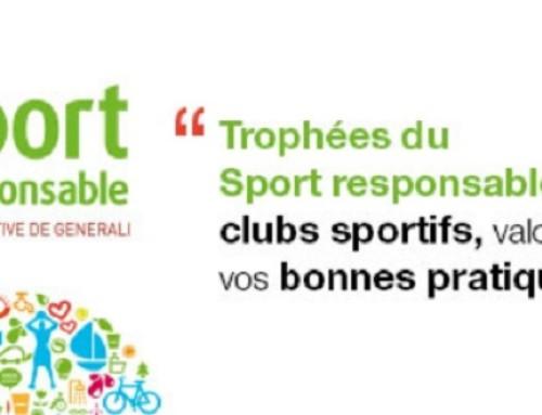 Trophées Sport responsable 2015 : clubs sportifs, à vous de jouer !