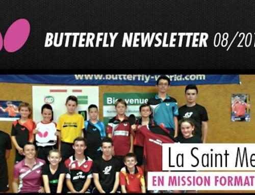 Butterfly met à l'honneur le club de Nantes St Médard de Doulon