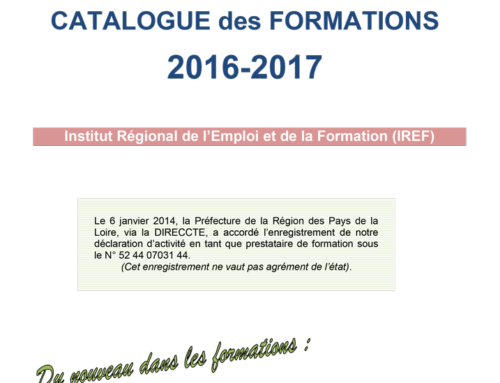 Catalogue des formations 2016-2017