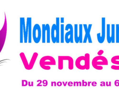 Championnats du monde juniors : du très haut niveau en Vendée !!!