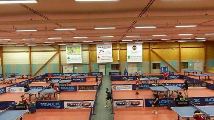 Crit rium f d ral 1er tour les f minines l honneur - Ligue pays de la loire tennis de table ...