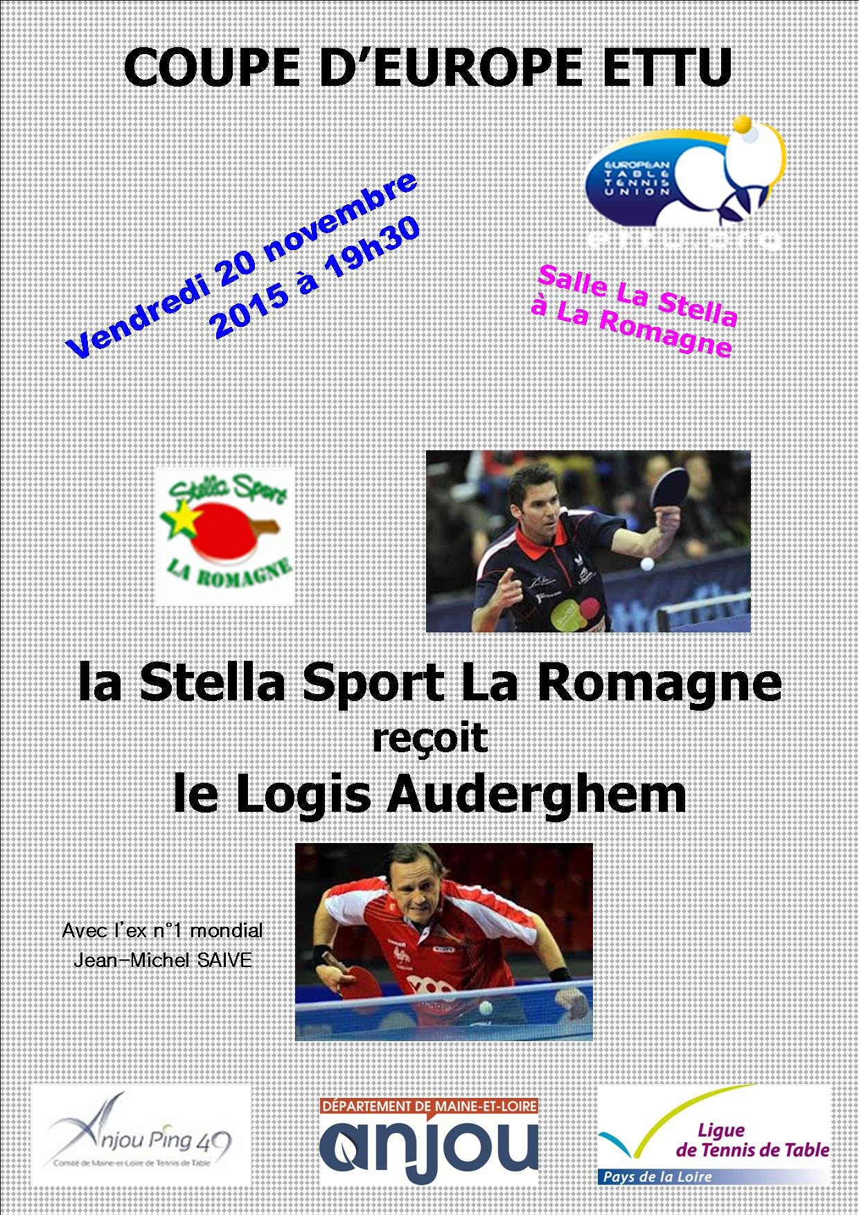 Annonce ligue des champions 091015 1 tennis de table ligue des pays de la loire - Tennis de table ligue des champions ...