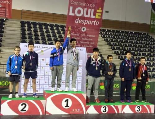 Marc COURGEON : Médaille d'argent au Portugal