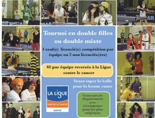Challenge Evelyne ROUILLON : tournoi pour lutter contre le cancer
