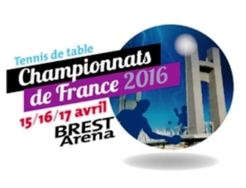Championnats de France seniors à BREST Aréna