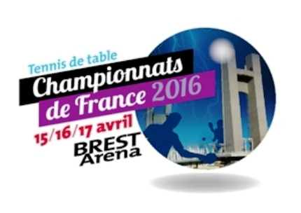 Championnats de france seniors brest ar na tennis de - Ligue ile de france de tennis de table ...