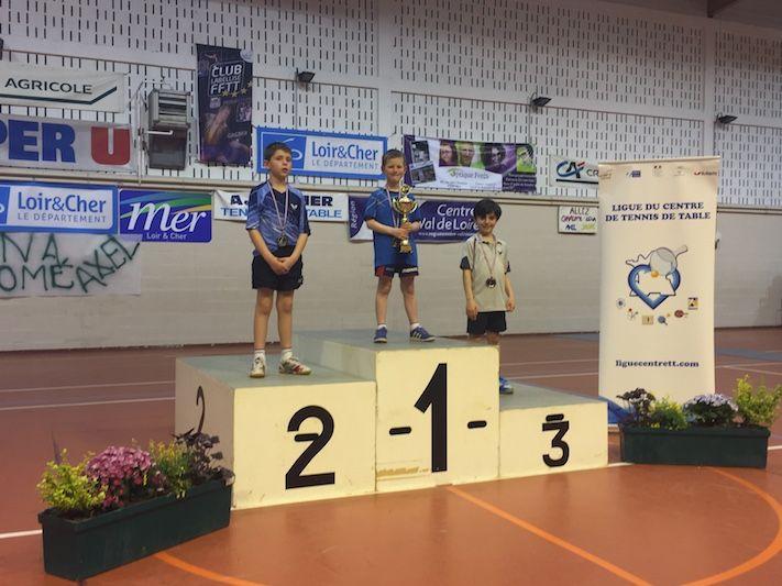 Top interr gional 3 titres pour les pdl tennis de - Ligue pays de la loire tennis de table ...