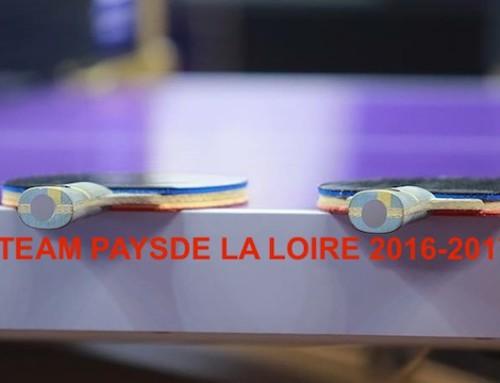 Team Pays de la loire : saison 2016-2017