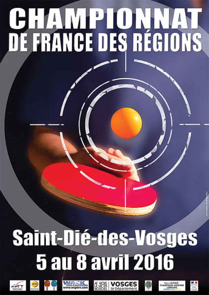 Championnats de france des r gions 4 quipes engag es - Championnat de france tennis de table ...