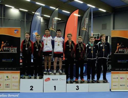 Open de Belgique, Médaille d'or pour Marc Courgeon