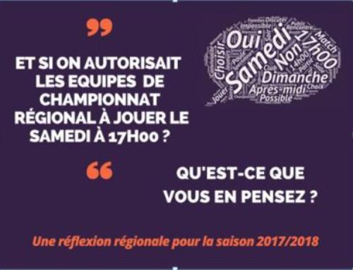 RELANCE du Sondage Championnat par équipes 2017-2018