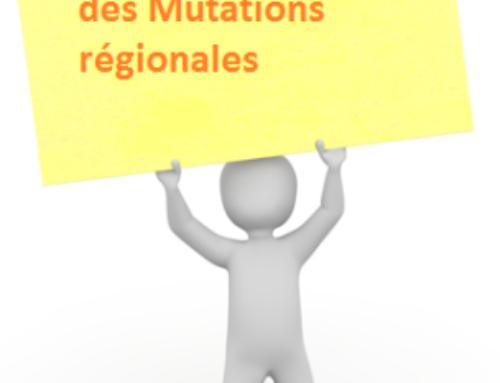 MUTATIONS Régionales