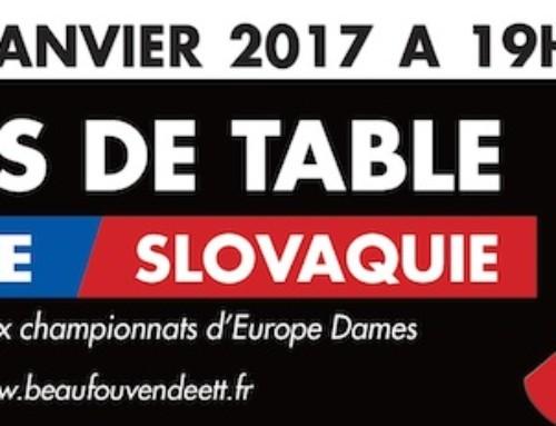 France-Slovaquie à Beaufou, l'évènement pongiste à ne pas manquer
