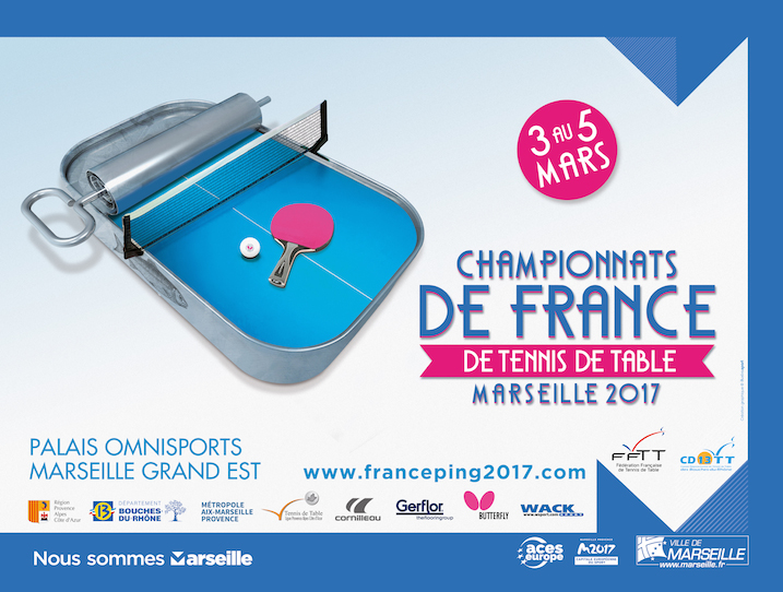 Championnats de france seniors 12 qualifi s pour les pdl - Championnat de france de tennis de table ...