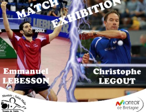 Match exhibition Emmanuel LEBESSON – Christophe LEGOUT