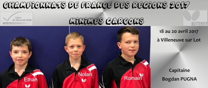 Championnats de france des r gions tennis de table ligue - Championnat de france tennis de table ...