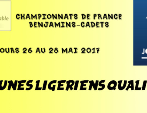 Championnats de France Benjamins-cadets, Marc COURGEON en bronze