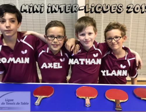 Mini-Interligues 2017 à Ceyrat : Deux médailles, or et bronze