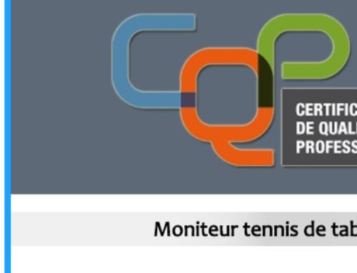 Formation CQP Moniteur tt